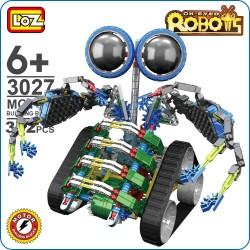 Robot con cadenas y motor....