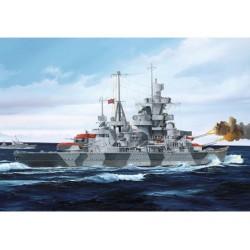 German Cruiser Admiral...