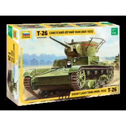 T-26 SOVIET LIGHT TANK mod....